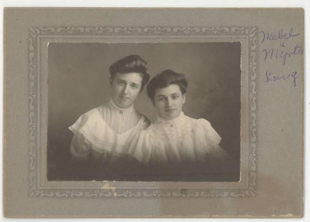 Mabel & Myrtle Lang