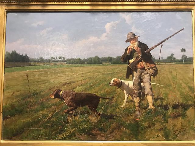 A painting by Otton Von Thoren