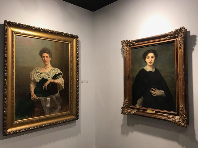 A portrait by Ricard