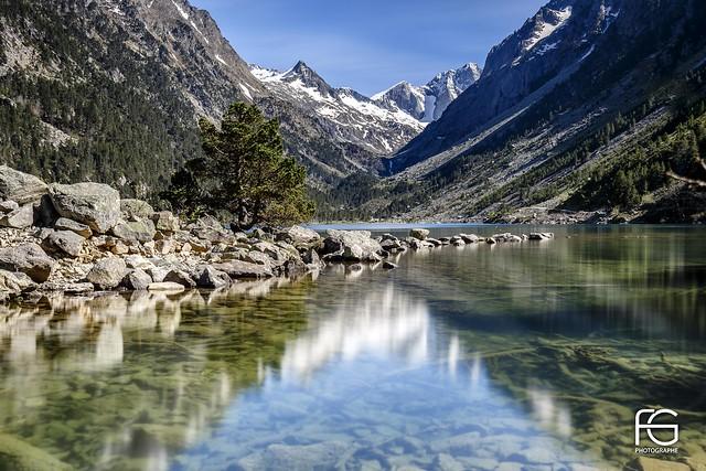 Translucent lake #explore