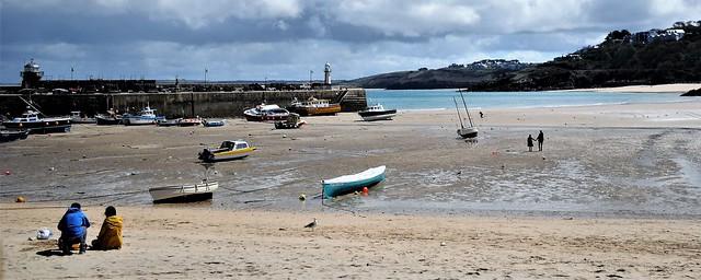 Porthminster Beach at Low Tide. Nikon D300s. DSC_6847.