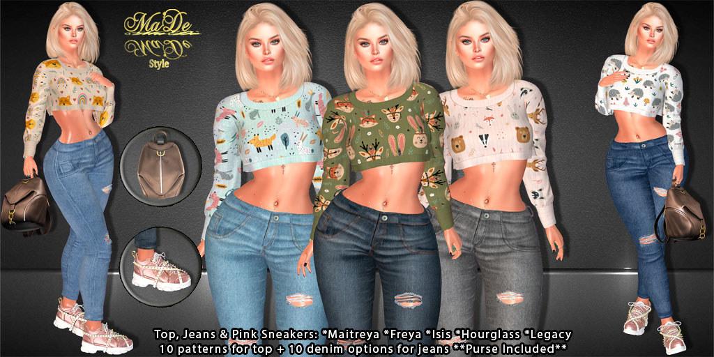 [>Ma'De<]  Nylah Full Outfit~ BUNDLES EXCLUSIVE
