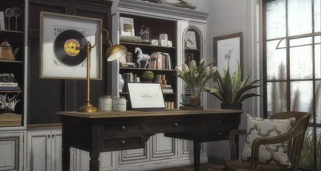 Home Office (Part Deux)