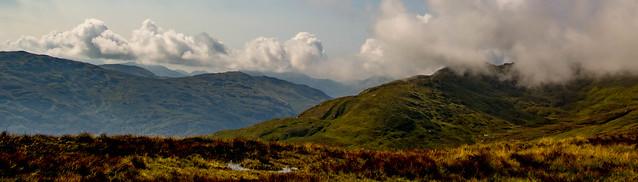 The Ptarmigan ridge clearing