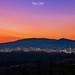 Agnone, tramonto