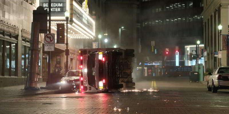 Ambulance scene