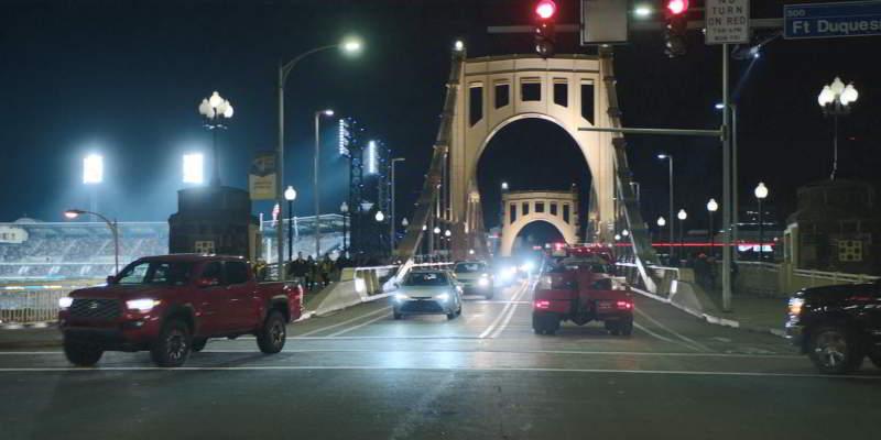 Downtown Pittsburgh bridge