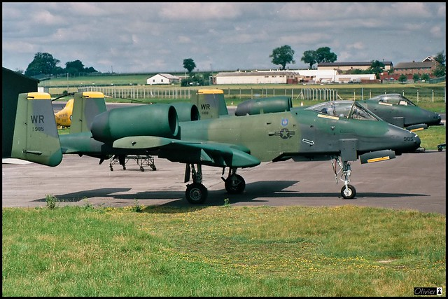 A-10A, 81TFW, USAFE