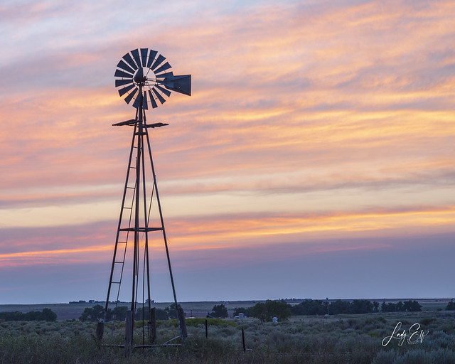 Windmill Sunset (Explore 8.26.21)