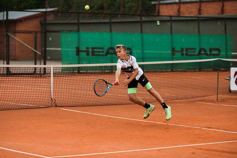 """Starptautiskās Tennis Europe sacensības """"Liepaja International Tournament"""" U12 4.diena. Foto: Mārtiņš Vējš / 4th day Tennis Europe """"Liepaja International Tournament"""" for U12"""