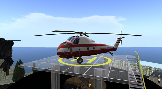 my Shergood Aviation Sikorsky S-58!