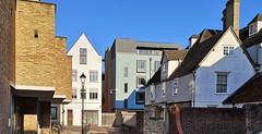 Oxford city sidestreet