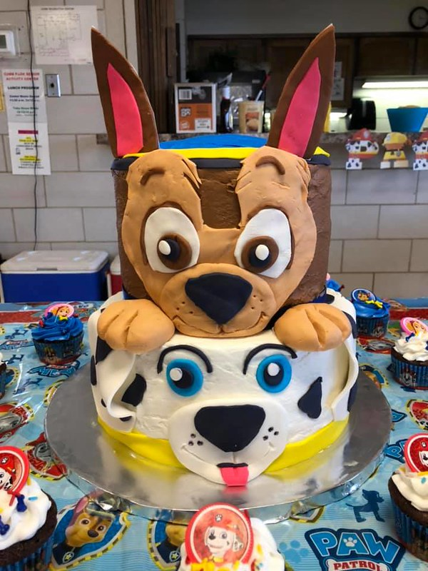 Cake by Kinda Crafty Cakes