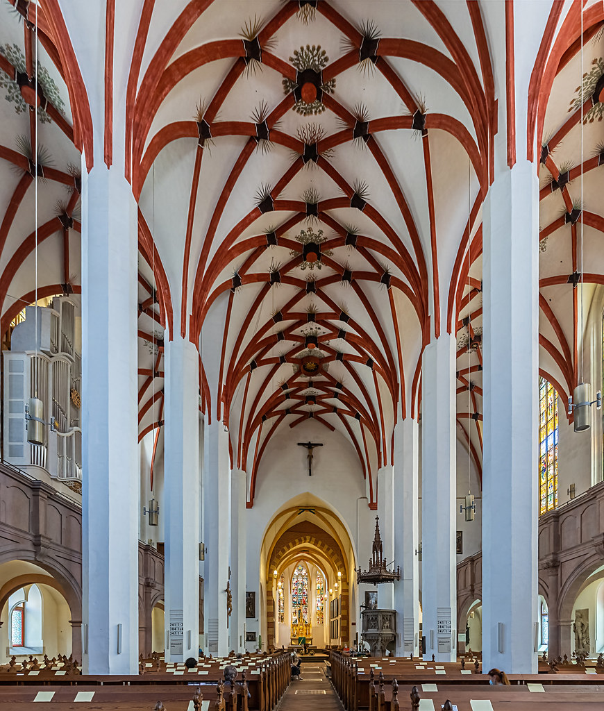 Thomaskirche in Leipzig in explore