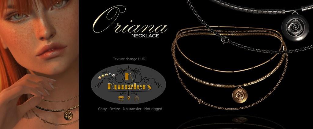 KUNGLERS Oriana necklace vendor