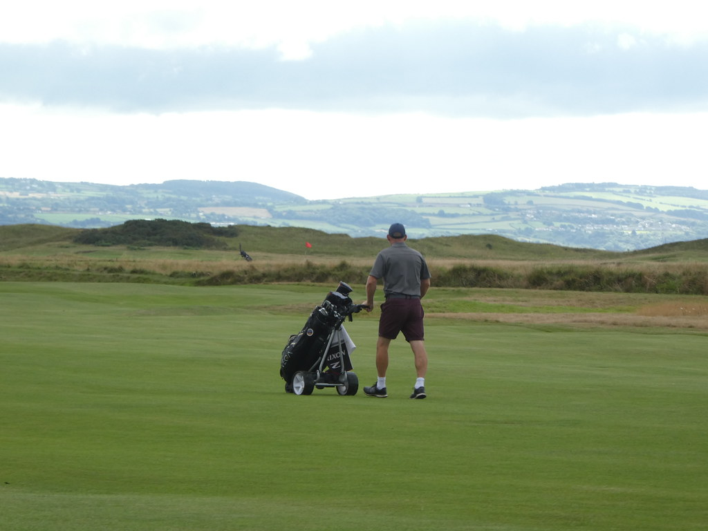 The famous Links Course at the Royal Liverpool Golf Club