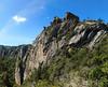 La face rocheuse de la cascade (photo Olivier Hespel)