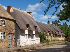 Main Street, Little Coxwell. Oxfordshire, England