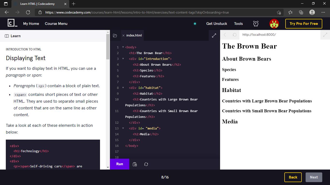 Learn HTML _ Codecademy - Personal - Microsoft Edge 26_08_2021 16_59_29