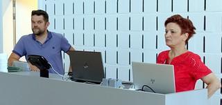 Peter Raeymaeckers en Eva Brumagne