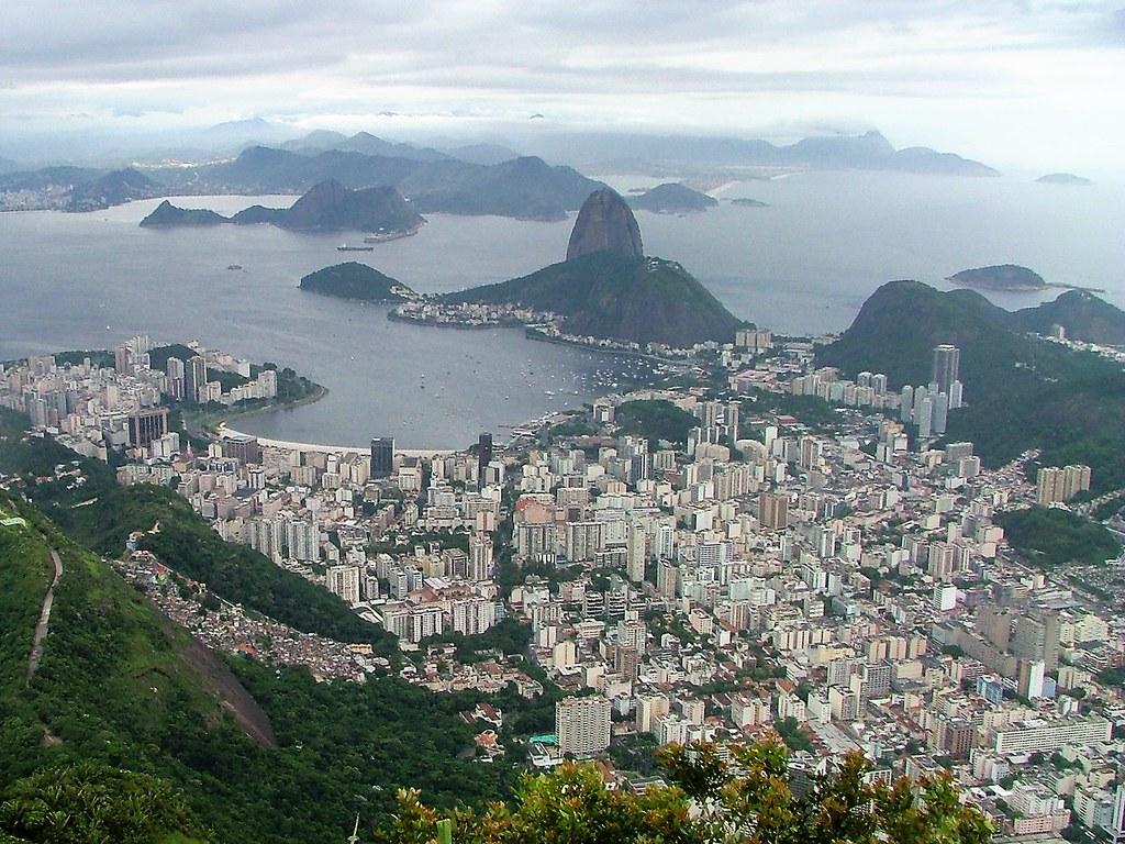 Rio de Janeiro: View from Corcovado Mountain