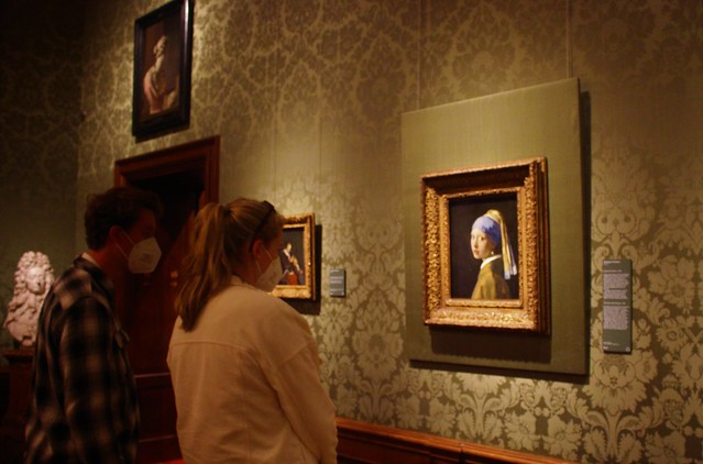 Covid - Days for the Girl with the Pearl Earring...