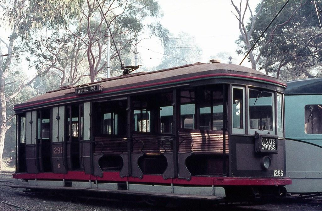 K 1296, Sydney Tramway Museum, Loftus, NSW.