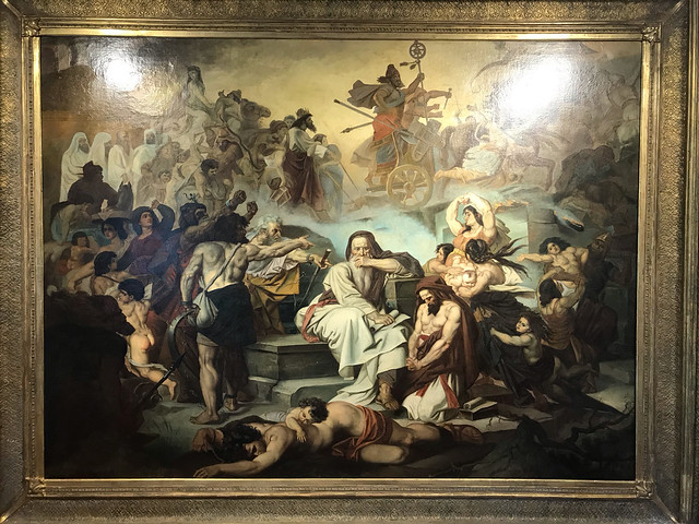 A painting by Aretino