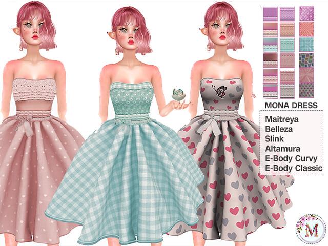 Melis-Mona Dress PACK