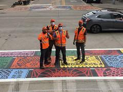 The New Papel Picado Inspired Crosswalk