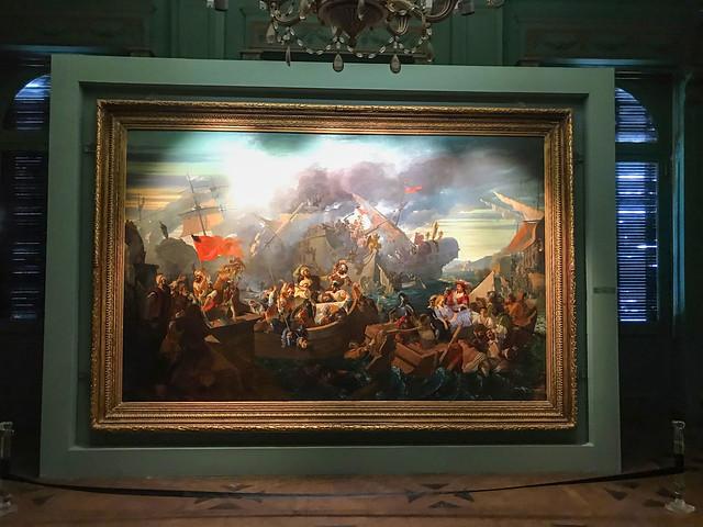 Ottomans vs Europeans sea battle