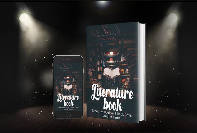 book cover or book cover design