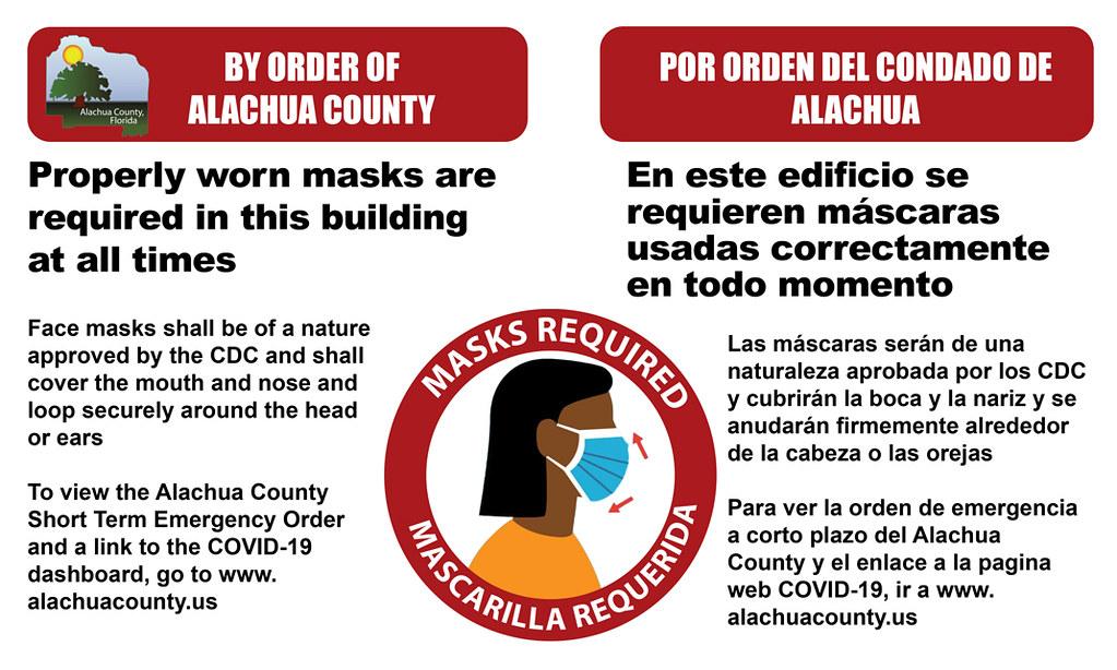 Mask mandate poster
