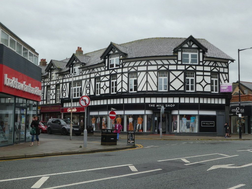 Tudor architecture in West Kirby, Wirral