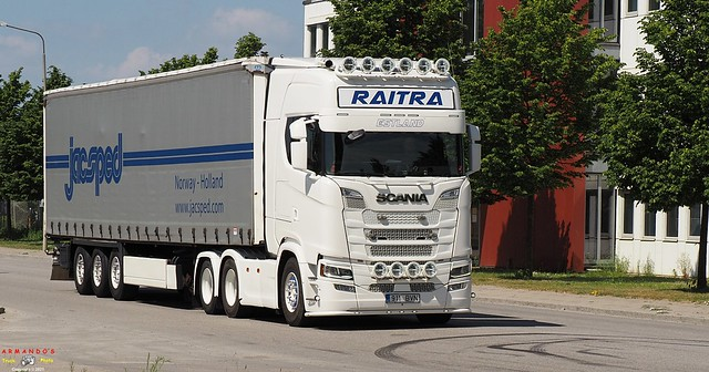 Scania S500 (EST911) RAITRA - JacSped (N)