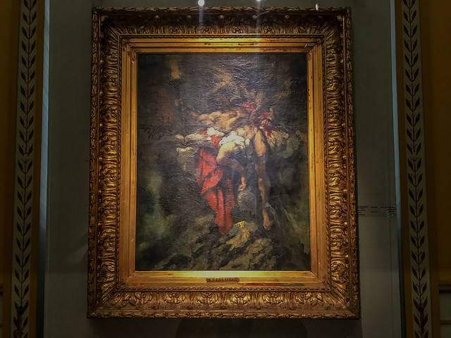 Prometheus by Delacroix