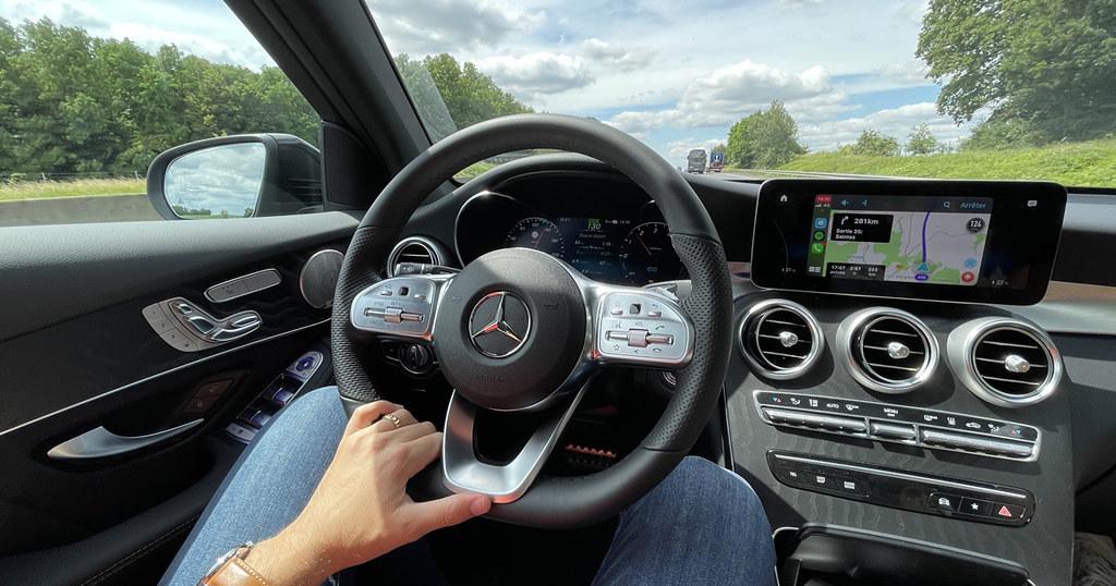 Mercedes GLC 300 de hybride diesel 306 ch