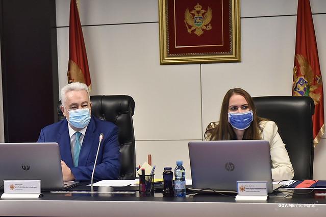 35. sjednica Vlade Crne Gore (26.08.2021.)