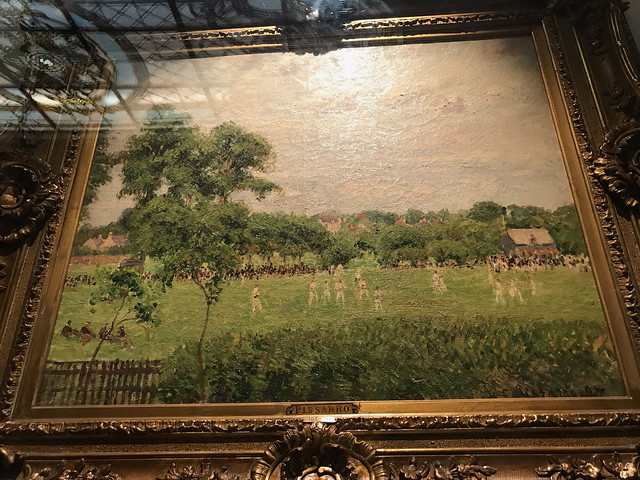 A painting by Pissarro