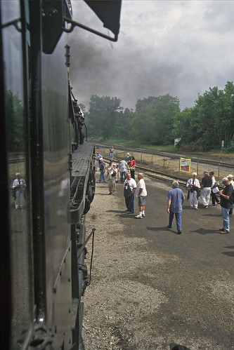 peremarquette1225 steamlocomotives owossomichigan 2009owossosteamfestival