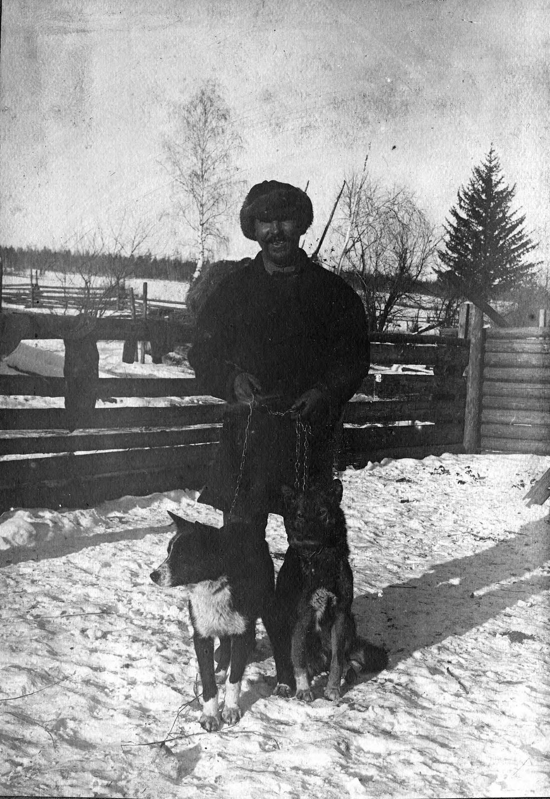 Медвежьи лайки из деревни Келоры Жигаловского района.