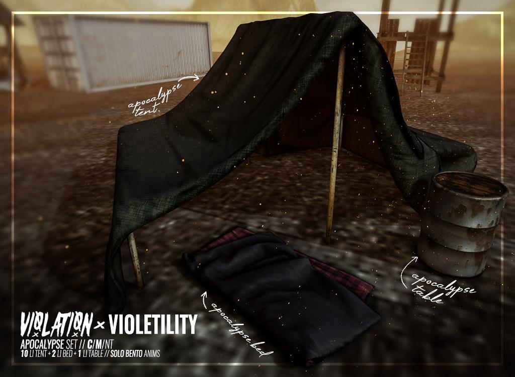 Violetility – Apocalypse Set Ad
