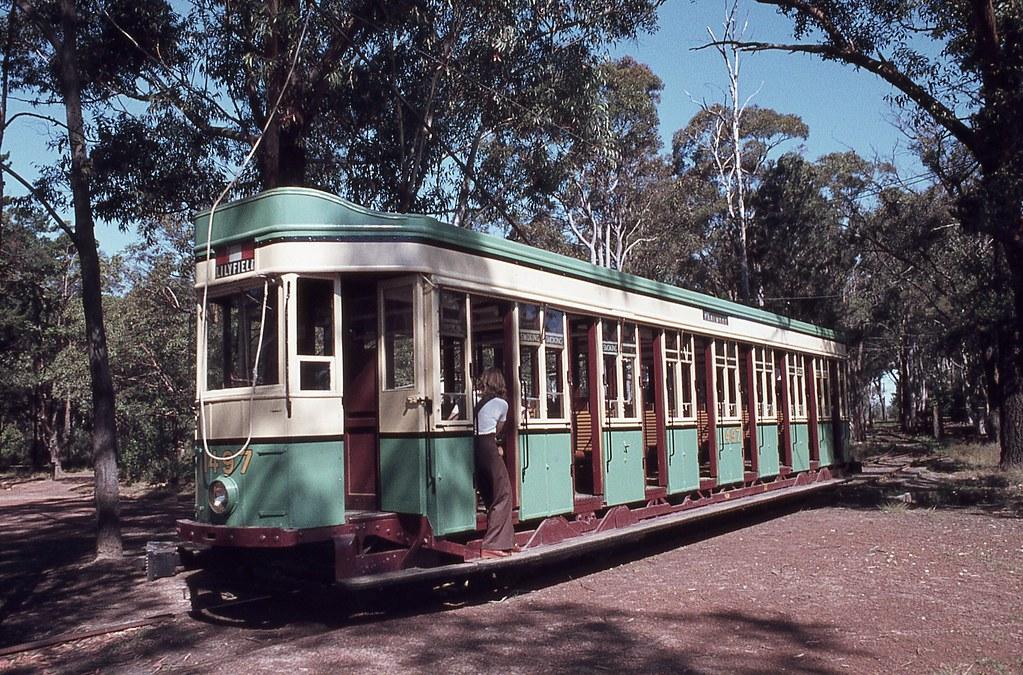 P 1497, Sydney Tramway Museum, Loftus, NSW.
