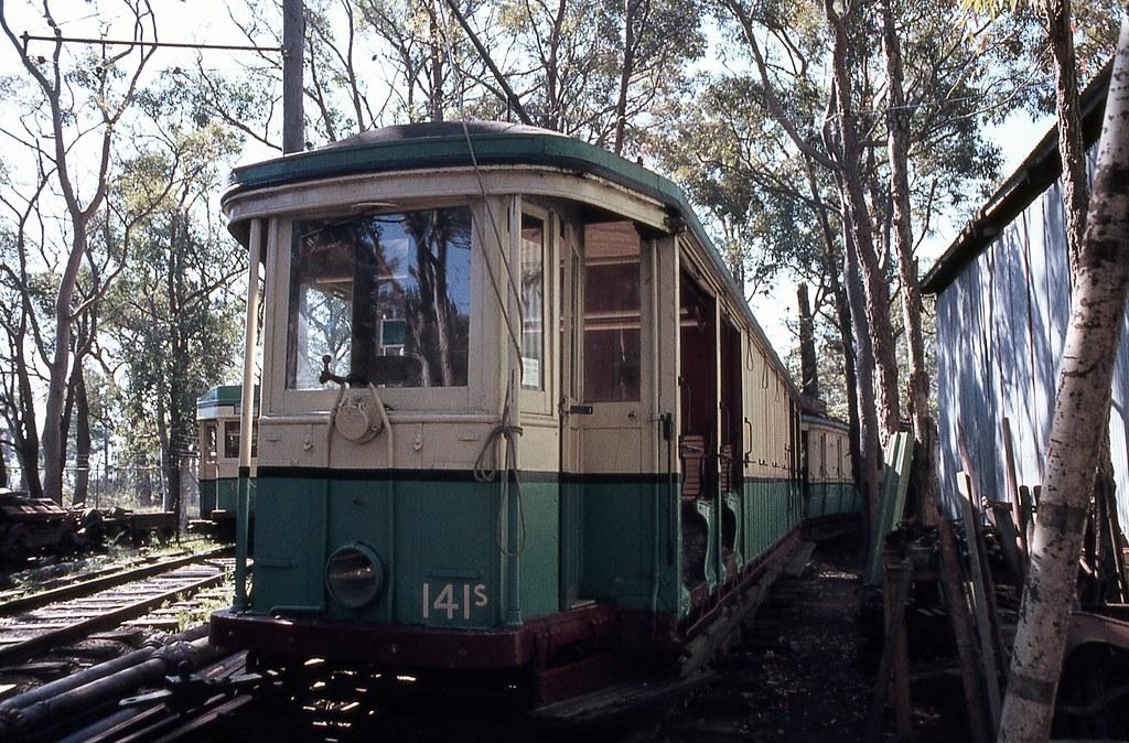 141s, Sydney Tramway Museum, Loftus, NSW.