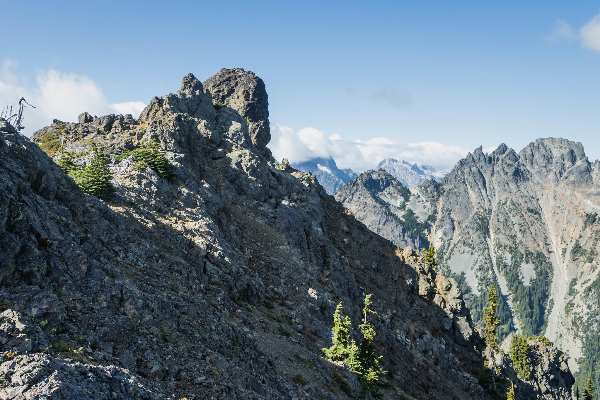 The final bit on Lobox Mountain