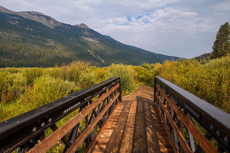 Clear Creek Footbridge