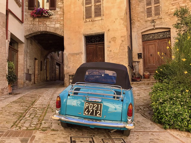 La Bianchina bleue