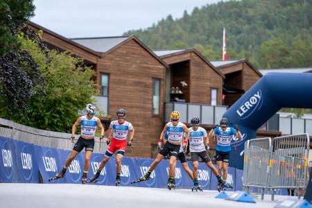 Schützová vede Světový pohár na kolečkových lyžích a Novák zazářil mezi hvězdami v Norsku
