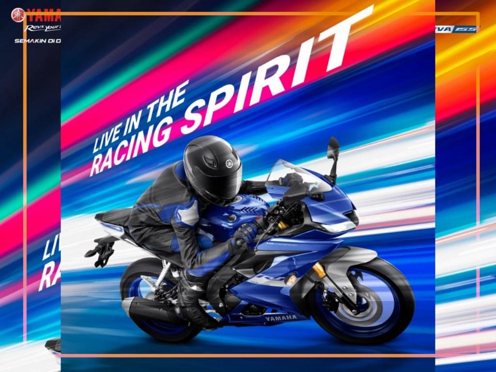Live in Racing Spirit