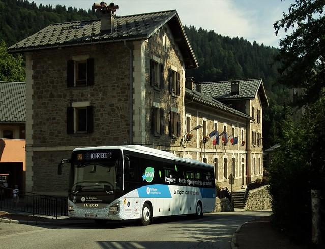 Iveco Crossway 13m CNG Autocars Borini FM-177-FS Flumet (73 Savoie) 23-07-21a